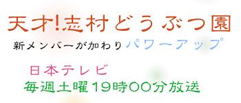 天才!志村どうぶつ園 日本テレビ 毎週土曜19時
